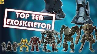 Top 10 ExoSkeletons Ranked | SciFi Films