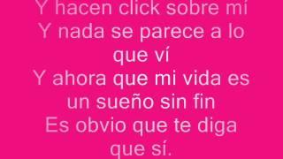 Click - Anahi feat. Miranda y Moderatto | Popland New 2011 [letra]