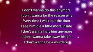Rihanna - Unfaithful, Lyrics In Video