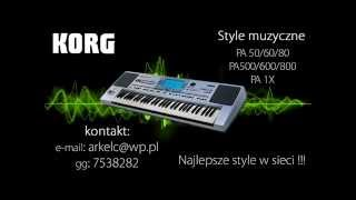 Dystans - Ćma *** KORG PA 50***