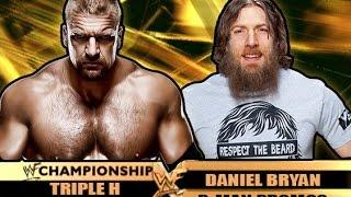 Daniel Bryan vs Triple H - Wrestlemania 17 Style Promo (Limp Bizkit)