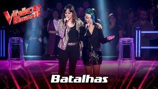 Alícia Sá e Gisele Lira cantam 'Who Knew' nas Batalhas - The Voice Brasil | 7ª Temporada