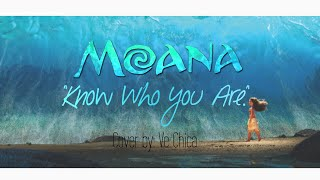 """""""Know Who You Are"""" Moana cover"""