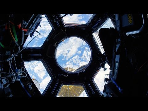 Space Station Fisheye Fly-Through 4K (Ultra HD)