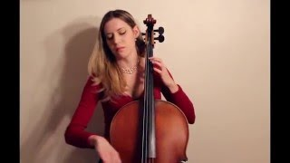 J.S. Bach - Cello Suite no. 1 in G major, BWV 1007, Sarabande, on baroque cello