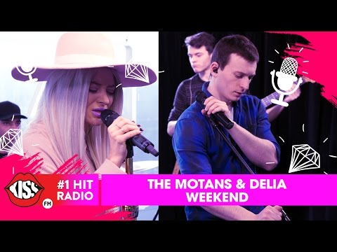 The Motans feat. Delia - Weekend (Live @ Kiss FM)