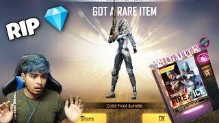 NINJA TECHNIQUE for NEW Diamond Royale? - FIRE or ICE  Diamond Royale - Garena Free Fire