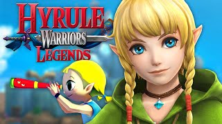 Hyrule Warriors Legends - Linkle (New Character)