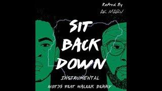 Not3s ft Maleek Berry - Sit Back Down Instrumental (Prod. By Ak Marv)   BEST ON YOUTUBE