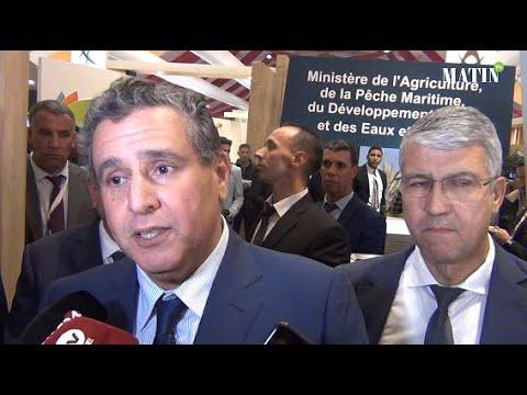 Video : Aziz Akhnnouch : «La filière de la datte se porte bien»