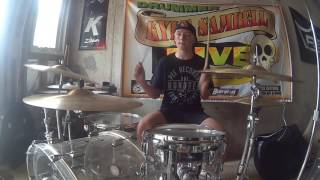 Wattershed - Foo Fighters Drum Cover by 14 Year Old Kyle