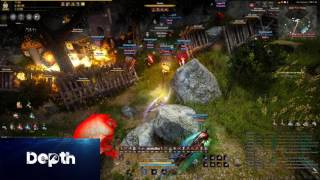 NGin - BDO - Dynasty Warriors - Node War Mini-Highlight - Karanda Ridge 2/3/17