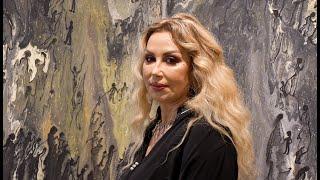 Exposition: L'artiste peintre Lahlou Rajae, présente «Miroir de l'âme » à la  galerie Living 4 ART