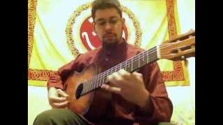 Microtonal classical guitar