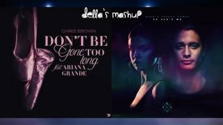 """Don't Be Gone Too Long"" vs. ""It Ain't Me"" - Ariana Grande vs. Kygo ft. Selena Gomez (Mashup!)"