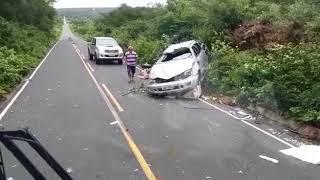 Vídeo de acidente na PI 140 sul do Piauí