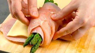Envolva esses 3 ingredientes com peito de frango no próximo churrasco. Delicioso!