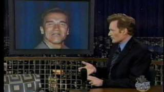 Conan talks to Bush, Gore and Arnold