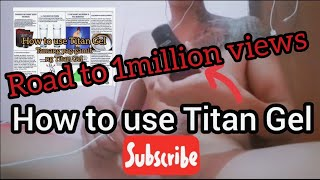 download how to determine titan gel fake and original pls call me or