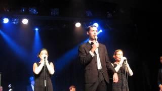 The Rat Pack Live - Tribute - Sway (Dean Martin), live @ Fringe Edinburgh, 2014