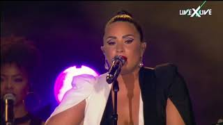 Demi Lovato - Catch Me/Don't Forget (Live from Rock in Rio Lisboa 2018) width=