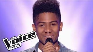 "Kelvin - ""Diamonds"" - (Rihanna) | The Voice Kids France 2017 | Blind Audition 4"