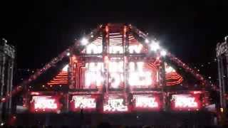 Dirtyphonics at EDC LV 2014 (video 1 of 5) 06-21-2014