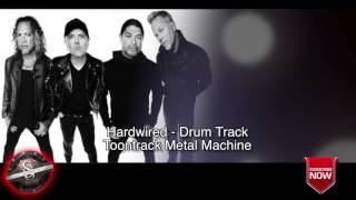 "Metallica ""Hardwired"" - Drums Only **NEW SONG BACKING TRACK 2016"