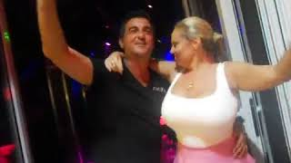 Super Sexy Tanya Russian Top Model with xxl boobs in Paradiso club Chersonissos