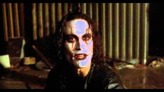 "(The Crow, 1994)  ""....and I say I'm dead and I move"""
