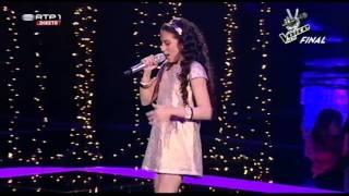 """Bruna Guerreiro - """"Há Dias Assim"""" - Final - The Voice Kids"""