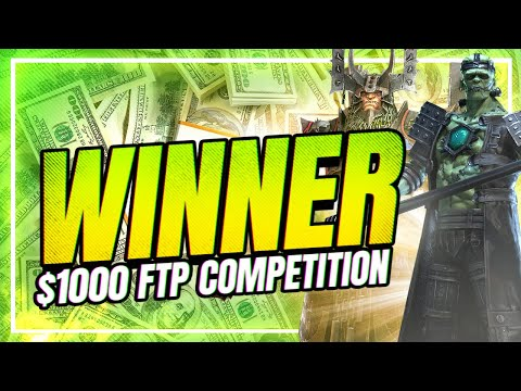 $1000 WINNER of f2p Interviewed! | RAID Shadow Legends