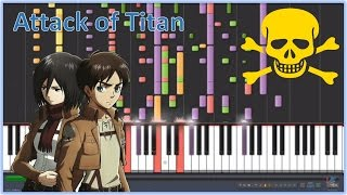 IMPOSSIBLE PIANO REMIX - Attack on Titan - Shingeki no Kyojin (Guren no Yumiya)