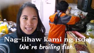 Learn Tagalog: Common Kitchen Verbs