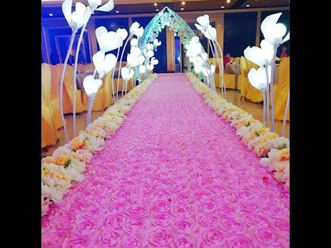 3D Rose Flower Floor Mat Carpet Entrance Decoration +91 81225 40589