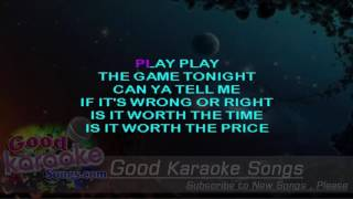 Play The Game Tonight -  Kansas (Lyrics Karaoke) [ goodkaraokesongs.com ]