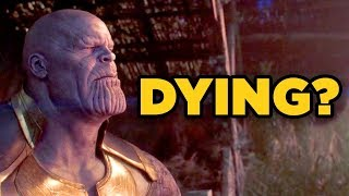 Avengers Infinity War - IS THANOS DYING? (Stormbreaker Wound Explained!) width=