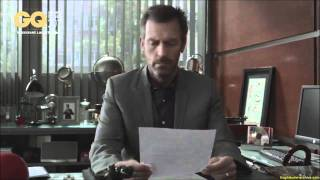 Hugh laurie GQ 2012 speech in french, SO FUNNY !