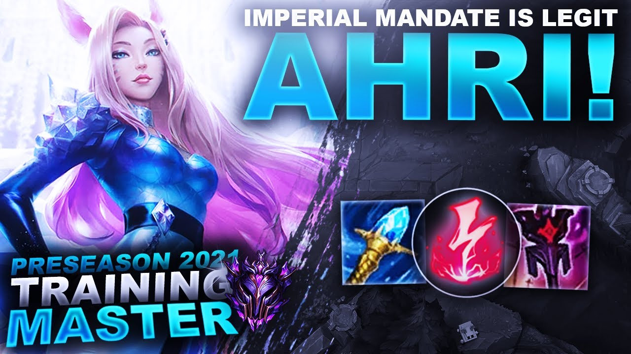 HuzzyGames - IMPERIAL MANDATE AHRI WORKS AND ITS LEGIT! | League of Legends