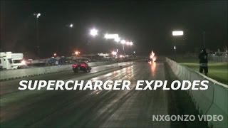 Hateful BLOWS UP SUPERCHARGER! #ALLTHEBOOST