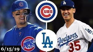Chicago Cubs vs Los Angeles Dodgers - Full Game Highlights   June 15, 2019   2019 MLB Season