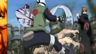 Kakashi vs Pain Linkin Park - In The End