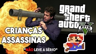 """STAND UP - GTA cria CRIANÇAS ASSASSINAS? - DVD Maurício Meirelles """"Não leve a sério"""""""