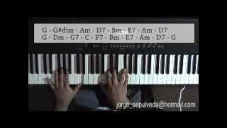 jazz piano tutorial- play bolero jazz
