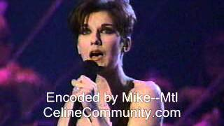 Céline Dion - The Colour Of My Love ( The Junos )