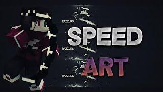 Minecraft Banner Speedart - Razzurs [05]  (10 likes ? )