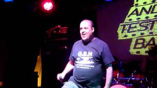Peter and the test tube babies-run like hell-live at The old bell- Derby 2011