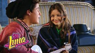 "Luna e Simón cantam ""Valiente"" - Momento musical -  Sou Luna"