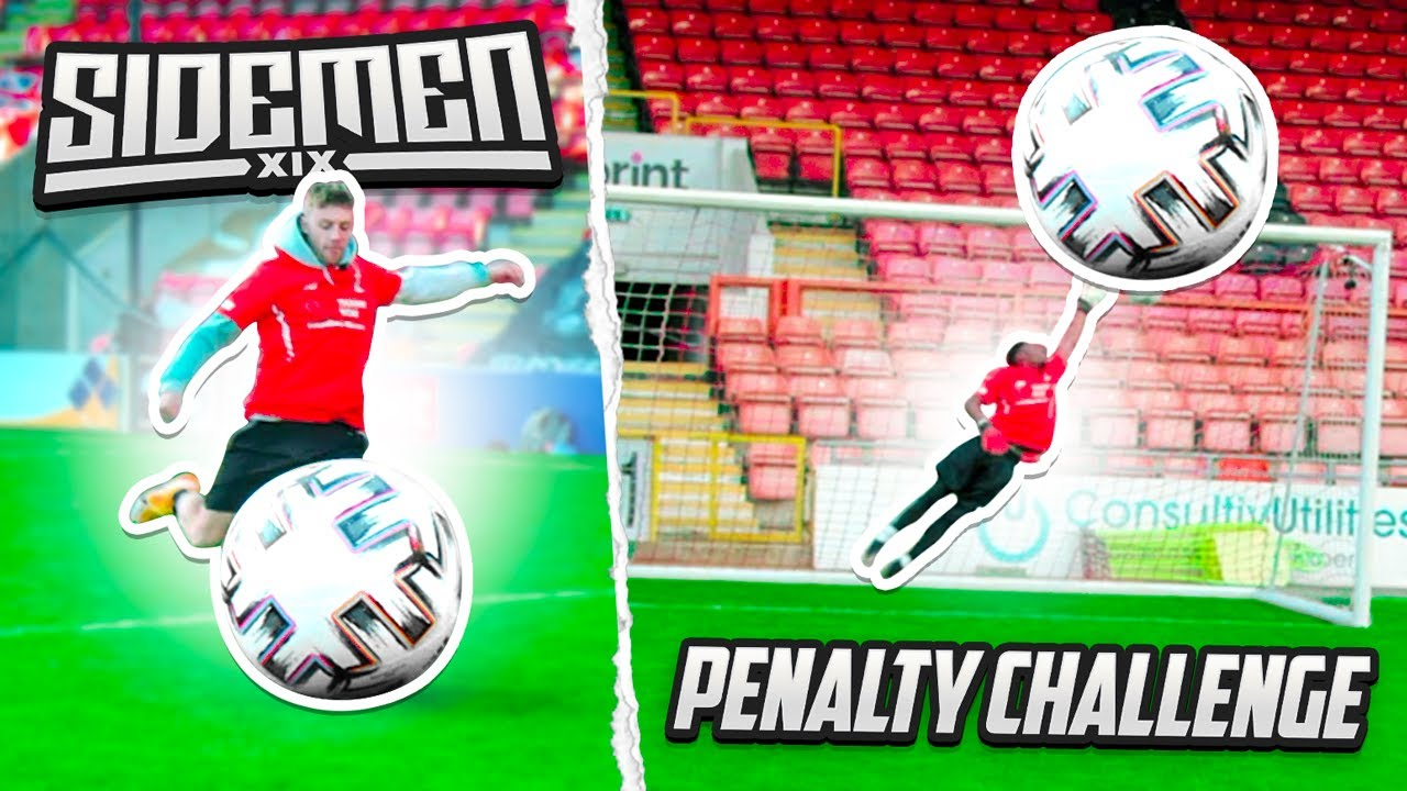 miniminter - SIDEMEN GIANT BALL PENALTY CHALLENGE