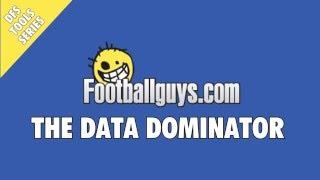 Footballguys Data Dominator
